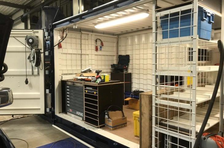 Tweede werkplaatscontainer is klaar!