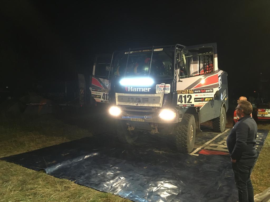 Hamer Rally Team op 2e plaats overall na geslaagde nachtetappe