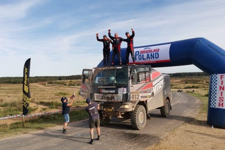 Hamer Rally Team tweede in Polen!