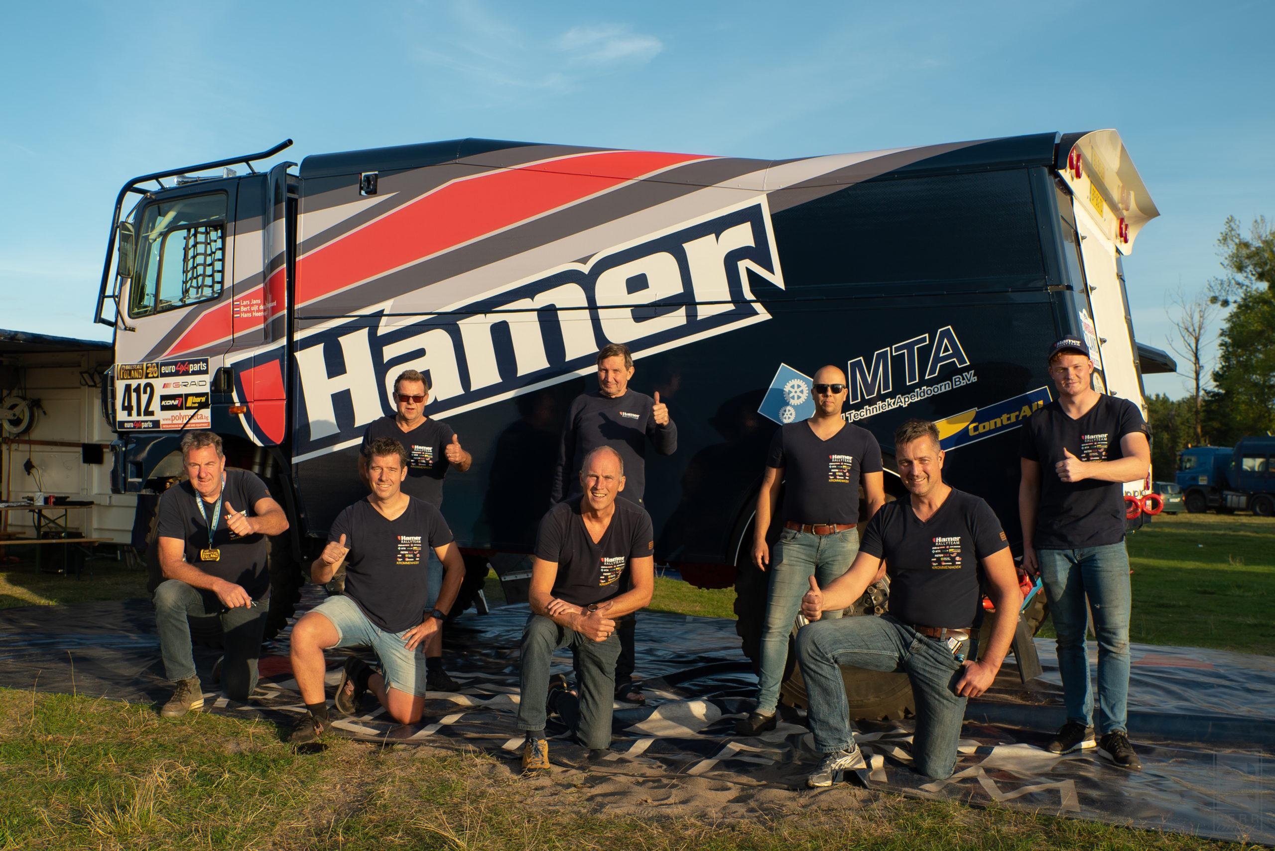 Hamer Rally Team weer naar Breslau Rallye in Polen