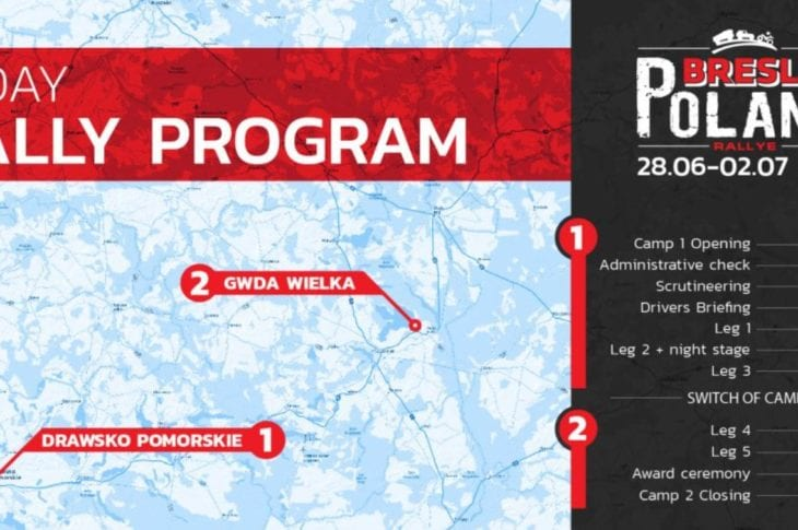Rallye Breslau Poland 2021 is dit jaar groter dan de 2021 Dakar Rally